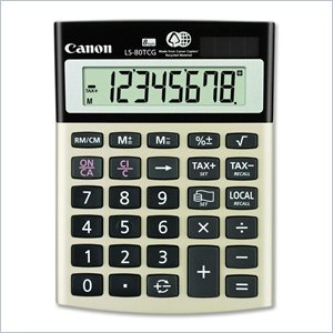 Canon LS-80TCG Green Desktop Calculator