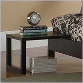 Fashion Bed Group Murray Side Table in Black Finish
