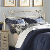 Fashion Bed Group Chester Metal Poster Headboard in Creme Brulee