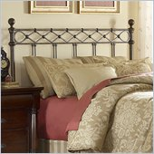 Fashion Bed Group Argyle Metal Poster Headboard in Copper Chrome