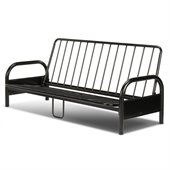 Fashion Bed Group Saturn Full Size Futon Frame in Black