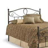 Fashion Bed Group Sylvania Metal Poster Headboard in French Roast