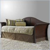 Fashion Bed Group Stratford Wood Daybed in Mahogany Finish with Pop-Up Trundle