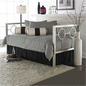 Fashion Bed Group Astoria Metal Daybed in Champagne Finish with Pop-Up Trundle