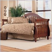 Fashion Bed Group Fraser Wood Daybed in Walnut  Finish with Pop-Up Trundle