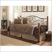 Fashion Bed Group Doral Matte Black/Walnut Daybed