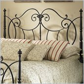 Fashion Bed Group Shannon Headboard in Vintage Charcoal
