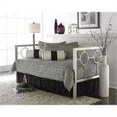 Fashion Bed Astoria Daybed with Link Spring and Trundle in Champagne