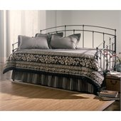 Fashion Bed Fenton Daybed with Link Spring and Trundle in Black Walnut