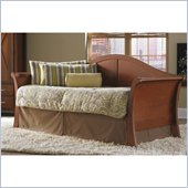 Fashion Bed Stratford Daybed with Euro Top Spring and Trundle in Mahogany