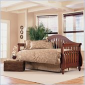 Fashion Bed Fraser Daybed Front Panel and Rollout Trundle in Walnut