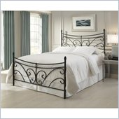 Fashion Bed Bergen Bed in Matte Black