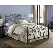 Fashion Bed Deland Bed in Brown Sparkle 