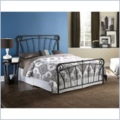 Fashion Bed Langford Bed in Blackened Silver 