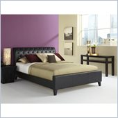 Fashion Bed Omnia Platform Bed in Black