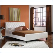 Fashion Bed Omnia Platform  Bed in White