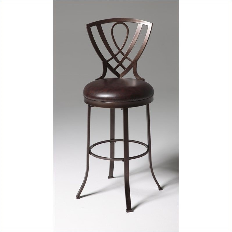 Fashion Bed Lincoln 30 Bar Stool in Copper Finish
