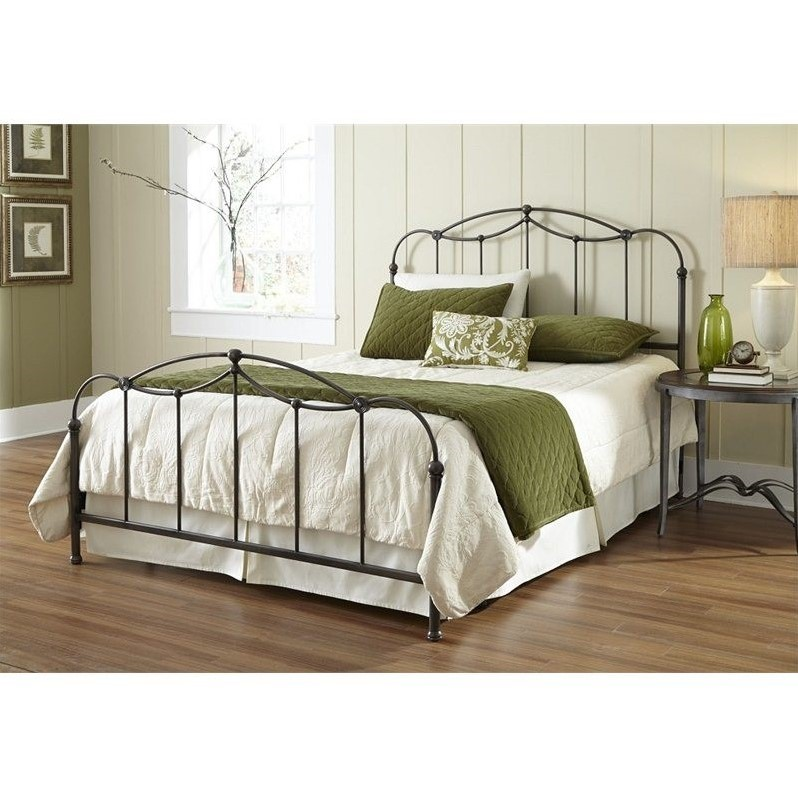 Fashion Bed Affinity Bed in Blackened Taupe-Full