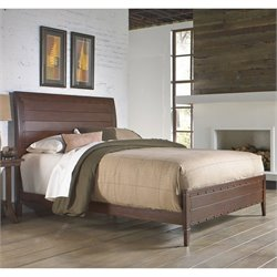 Fashion Bed Rockland Metal Bed in Brandy