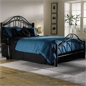 Fashion Bed Group Linden Metal Bed in Ebony Finish