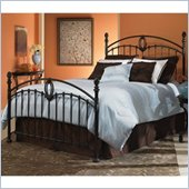 Fashion Bed Group Coronado Metal Poster Bed in Tarnished Copper Finish