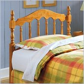 Fashion Bed Group Cambridge Solid Pine Wood Headboard in Natural Finish