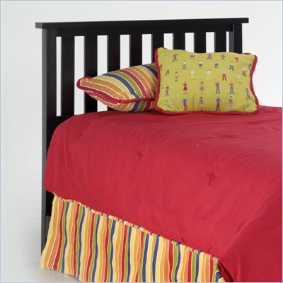 Fashion Bed Group Belmont Black Wood Headboard