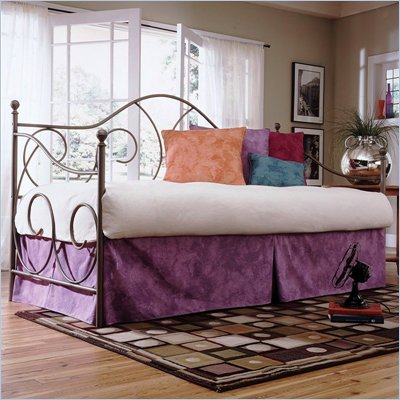 Fashion Bed Group Caroline Metal Daybed in Flint  Finish