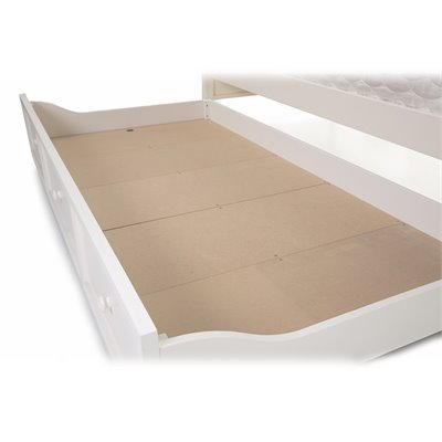 Fashion Bed Group Casey Trundle in White Finish