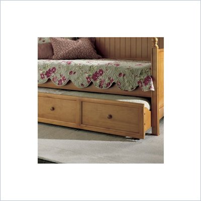 Fashion Bed Group Casey Wood Daybed Trundle in Honey Maple Finish