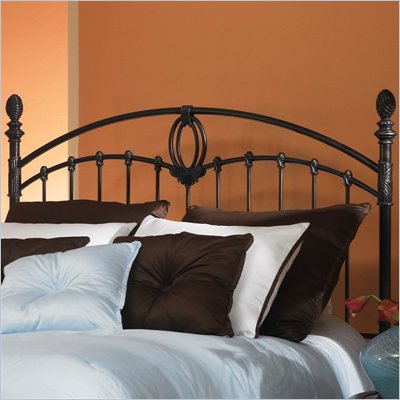 Fashion Bed Group Coronado Metal Headboard in Tarnished Copper Finish
