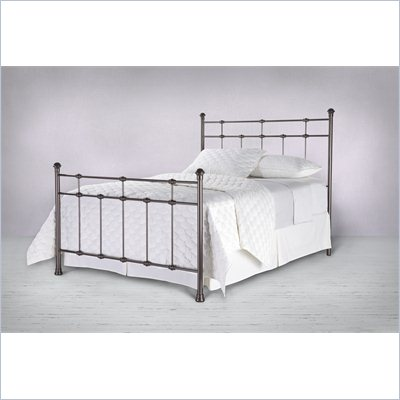 Fashion Bed Group Dexter Metal Headboard in Hammered Brown Finish