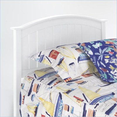 Fashion Bed Group Finley Wood Headboard in White Finish