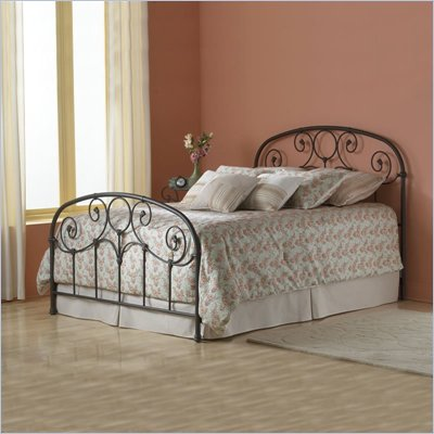 Fashion Bed Group Grafton Metal Bed in Rusty Gold Finish
