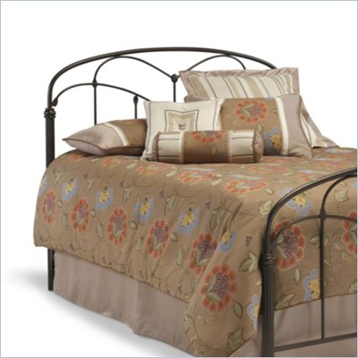 Fashion Bed Group Pomona Metal Panel Headboard in Hazelnut