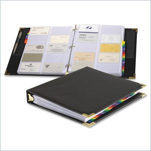 Cardinal Stafford Business Card Ring Binder
