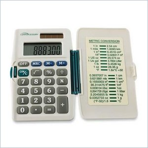 Compucessory 3-Key Memory Pocket Calculator