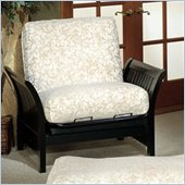 Elite Products Florenzia Junior Twin Wood Futon Chair Frame