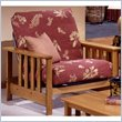 ADD TO YOUR SET: Elite Products Mead Junior Twin Oak Futon Chair Frame