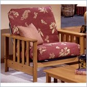 Elite Products Mead Junior Twin Oak Futon Chair Frame