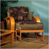 Elite Products Bentley Junior Twin Oak Futon Chair Frame