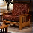 ADD TO YOUR SET: Elite Products Bridgeport Junior Twin Oak Futon Chair Frame