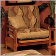 ADD TO YOUR SET: Elite Products Montego Junior Twin Oak Futon Chair Frame