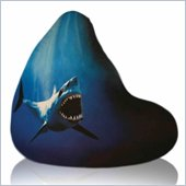 Elite Products Large Shot Shark Bean Bag