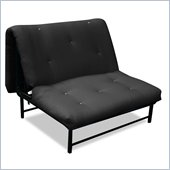 Elite Products X Factor Black Metal Twin Size Futon