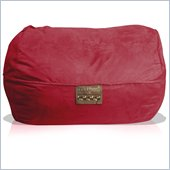 Elite Products 6 Foot Mod Pod FX Bean Bag Lounger in Lipstick Suede