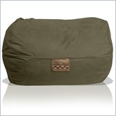 Elite Products 6 Foot Mod Pod FX Bean Bag Chair in Olive Suede