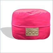 Elite Products Single Mod Pod FX 4-FT Bean Bag Chair in Hot Pink