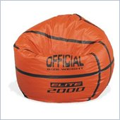 Elite Child Vinyl Basketball Bean Bag
