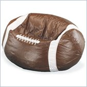 Elite Sport Vinyl Football Bean Bag Chair
